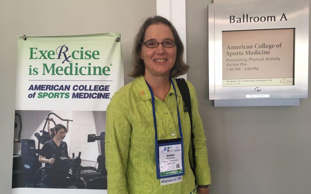 Dr. Basia Belza presents at ACSM Exercise Is Medicine World Congress
