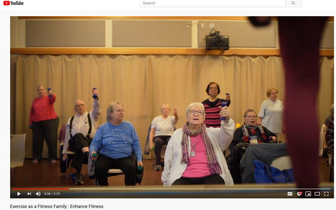 NCHPAD is proud to partner with EnhanceFitness – Video